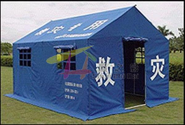 搭救灾帐篷的详细步骤图